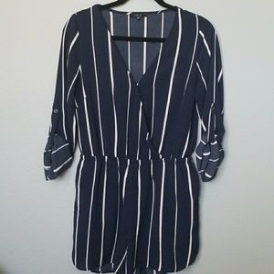 IRIS striped romper medium